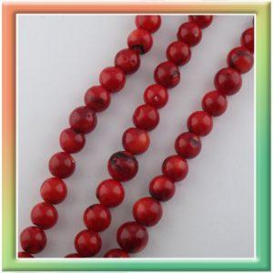 d10-12мм (1нитка-38см) красный (thumb15761)