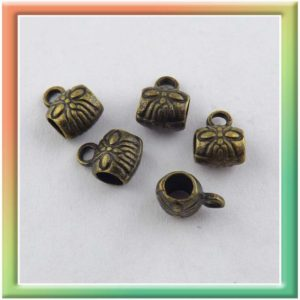 "Бэйл ""узор"" 5*5мм (цена за 30шт) бронза (thumb9606)"
