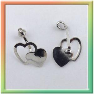 Extra держатель для подвесок-колец  45*26мм (цена за 10шт) цв.никель (thumb9625)