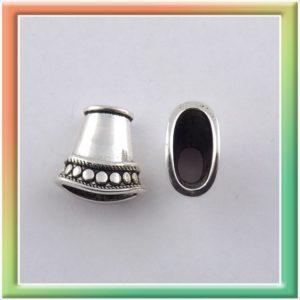 Колпачок f1282 8*15мм (цена за 10шт) никель (thumb9768)