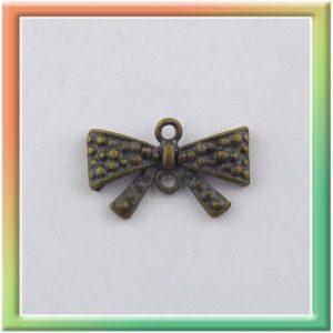 "Коннектор ""бантик"" 10*17мм (цена за 20шт) бронза (thumb9820)"