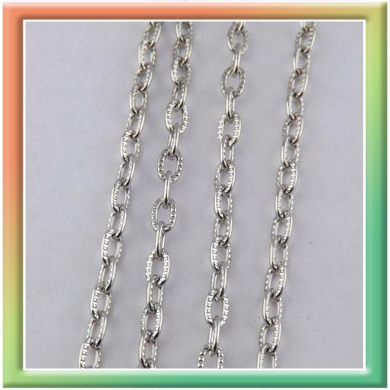CN06082 с нарезкой 5*3мм (цена за 25м) никель (thumb9028)