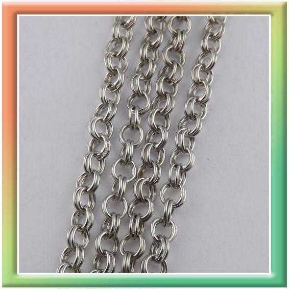 CN06582 двойная d5мм (25м) (цена за 25м) никель (thumb9034)