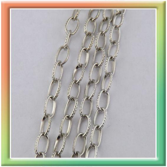 CN06585 с нарезкой 8*5мм (цена за 25м) никель (thumb9039)
