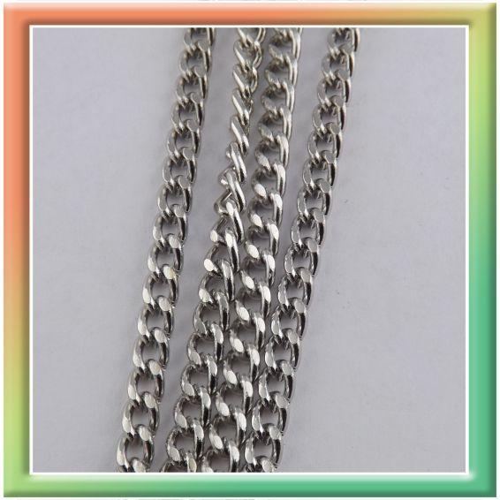 CN06586 с алмазной гранью 6*4мм (цена за 25м) никель (thumb9041)