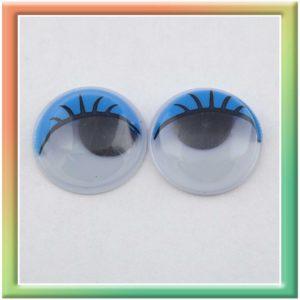 Глазки клеевые d18мм (50шт) голубые (thumb5288)