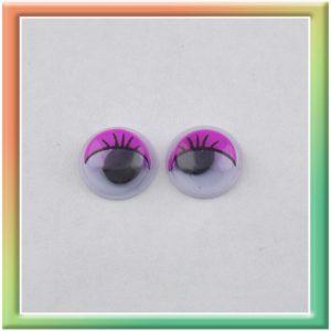 Глазки клеевые d8мм (100шт) фиолетовые (thumb5291)