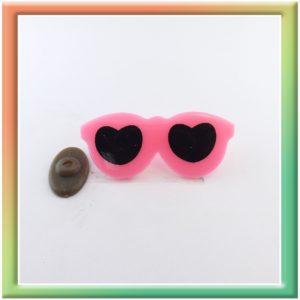 Очки 55*24мм (30шт) розовые (thumb6153)