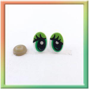 Глазки винт. 17*12мм (30пар) многоцветные (thumb5936)
