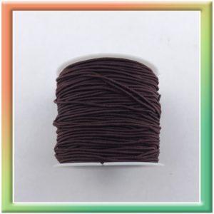 Резина в цветной оплётке (1шт) коричневый (thumb12192)