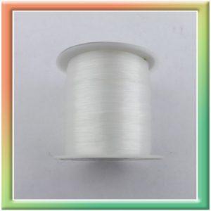 Леска для бисера 0,2мм 50м белый (шт.) (thumb12204)