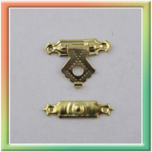 FL-031 замок 24*15мм (цена за 20шт) золото (thumb13150)